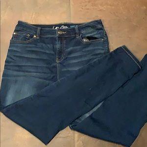 INC Skinny leg regular fit jeans size 12